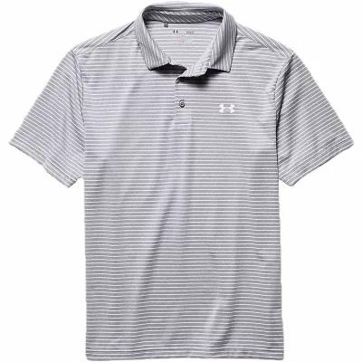 アンダーアーマー 半袖シャツ Under Armour UA Playoff Polo True Grey Heather / White / White