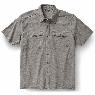 ロイヤルロビンズ 半袖シャツ Royal Robbins Canamo Button Front Shirt Pewter