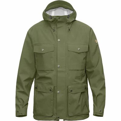 フェールラーベン レインコート Fjallraven Ovik Eco Shell Jacket Green