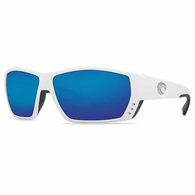 送料無料 コスタデルメール Costa Del Mar スポーツサングラス Del Polarized Tuna Alley Costa Polarized Sunglasses White/Blue, きもの遊美:cda4e5cd --- canoncity.azurewebsites.net
