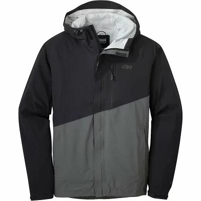 アウトドアリサーチ レインコート Panorama Point Jacket Black / Charcoal Heather