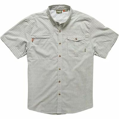 ホウラーブラザーズ 半袖シャツ Howler Bros Matagorda SS Shirt Principal Plaid / Grain Grey