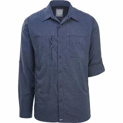 ウールリッチ 半袖シャツ Expedition Canyon Convertible Shirt Faded Indigo