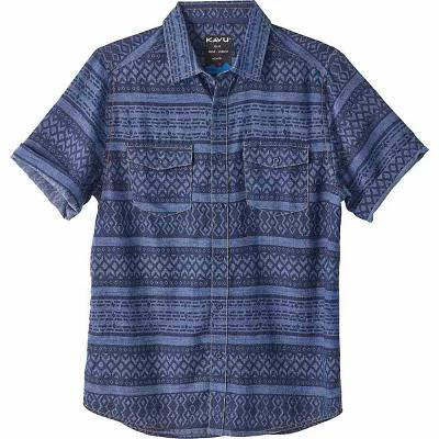 カブー 半袖シャツ Prime Time Shirt Indigo