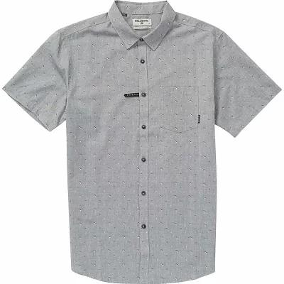 ビラボン 半袖シャツ Sundays Jacquard SS Shirt Grey