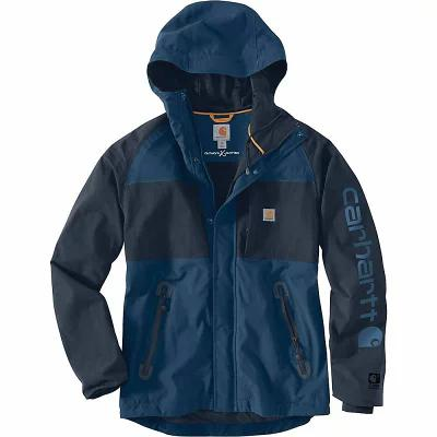 カーハート レインコート Angler Jacket Dark Blue / Navy