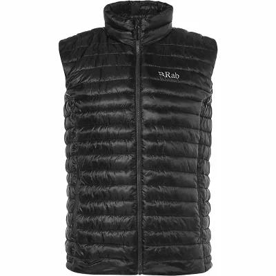 ラブ Rab ベスト・ジレ Microlight Vest Black / Shark