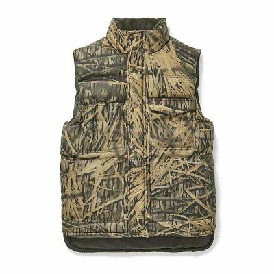 フィルソン Filson ベスト・ジレ Camo Down Cruiser Vest Shadow Grass