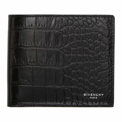 ジバンシー 財布 Black Croc 8CC Wallet
