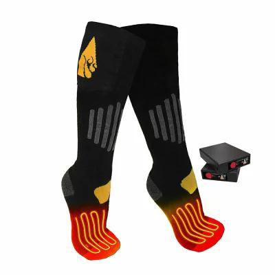 アクションヒート ActionHeat ソックス Cotton Rechargeable Heated Socks Black