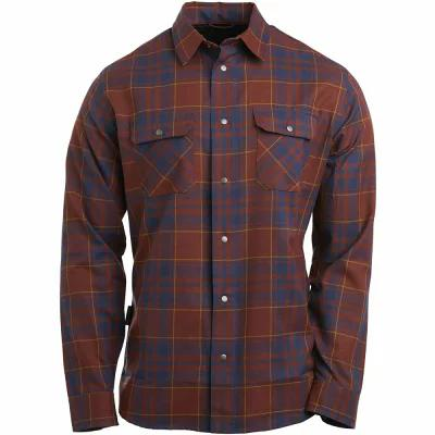 フライロウ Flylow シャツ Handlebar Tech Flannel Shirt - Long - Sleeves Madeira/Pluto/Bear