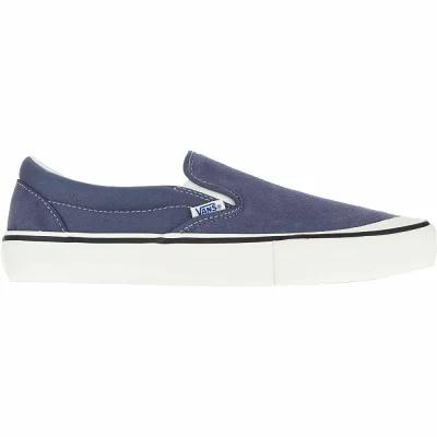 ヴァンズ Vans スリッポン・フラット Slip - On Pro Skate Shoes (retro) Grisaille