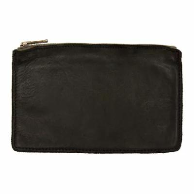 グイディ Guidi 財布 Black Horse Soft Zipped Wallet