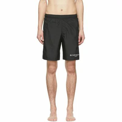 ジバンシー Givenchy 海パン Black Logo Swim Shorts