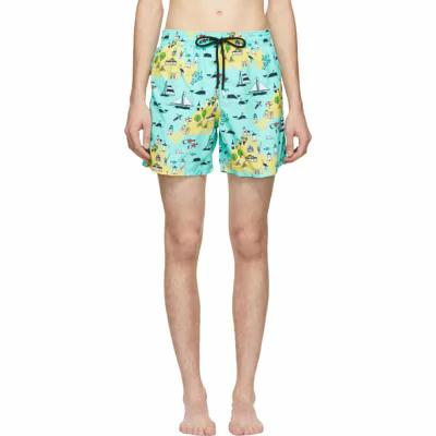 ヴィルブレクイン Vilebrequin 海パン Green Martha's Vineyard Moorea Swim Shorts