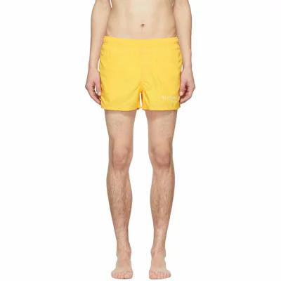 ジバンシー Givenchy 海パン Yellow Logo Swim Shorts