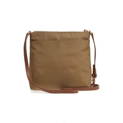 f1a61105809a [お取り寄せ商品] Kaison Nylon Crossbody Bag Shitake/ Brown。