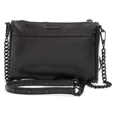 581ac5690900 [お取り寄せ商品] Mini MAC Convertible Crossbody Bag Black/ Black Hrdwr..