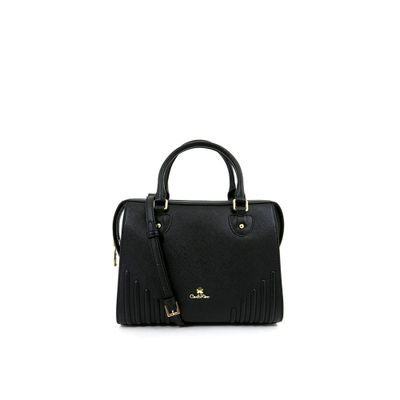 カルロ リノ ハンドバッグ Carlo Rino 0304132A-002-08 Top-handle bag (Black) black