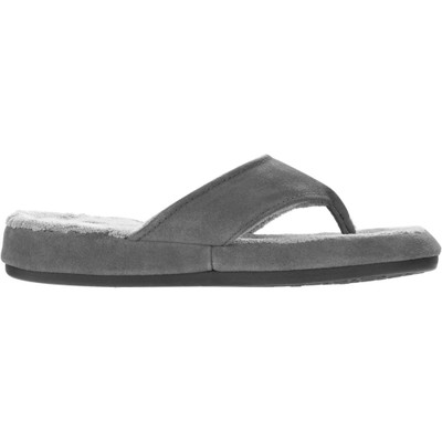 エーコーン スリッパ Suede Spa Thong Slipper Ash
