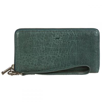 ウィルレザーグッズ Around クラッチバッグ Alix Zip Around Pine Clutch Clutch Pine, パーティーバッグ - Rich or Die -:30a9327b --- jphupkens.be