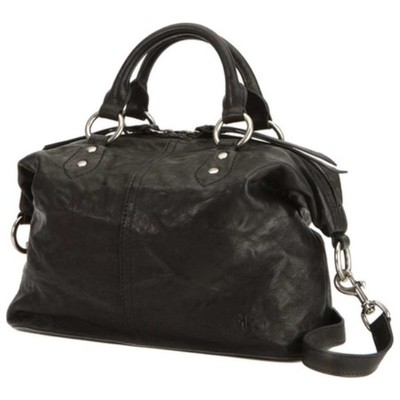 フライ ハンドバッグ Veronica Studded Satchel Black