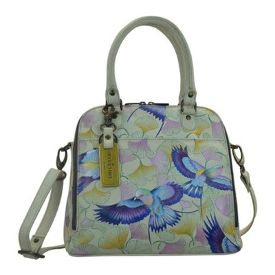 アヌシュカ その他バッグ Hand Painted Zip Around Convertible Satchel Wings of Hope