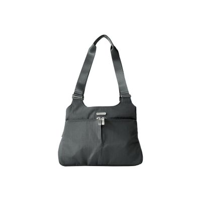 バッガリーニ ハンドバッグ Triple Compartment Satchel Charcoal
