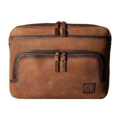 STSランチウェア パソコンバッグ The Baroness Medium Laptop Bag Tornado Brown