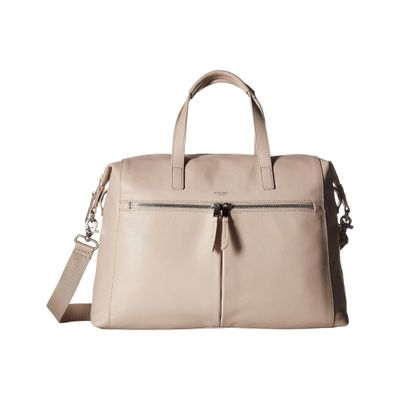 モノ ハンドバッグ Mayfair Luxe Audley Leather Handbag Concrete