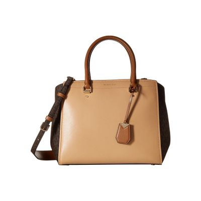 マイケル コース ハンドバッグ Benning Large Satchel Butternut/Brown/Acorn