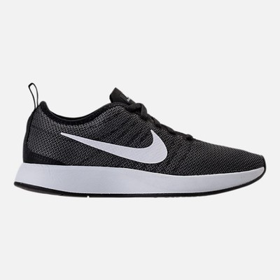 ナイキ スニーカー Nike Dualtone Racer Casual Shoes Black/White/Dark Grey