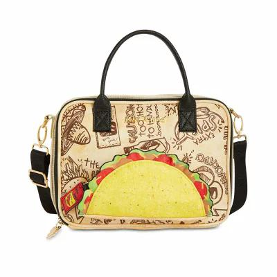 ベッツィ ジョンソン Betsey Johnson ハンドバッグ Let's Taco 'Bout It Lunch Satchel Natural