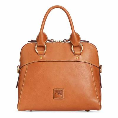 ドゥーニー&バーク Dooney & Bourke ハンドバッグ Cameron Medium Satchel Natural/Gold