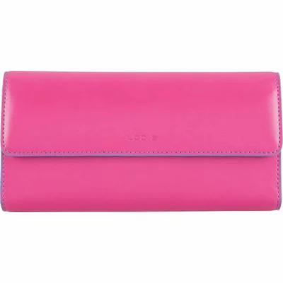 ローディス Lodis クラッチバッグ Audrey RFID Checkbook Clutch Hot Pink/Blue