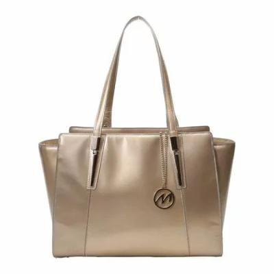 マックレーン McKlein トートバッグ Aldora Business Tote Gold Genuine Leather