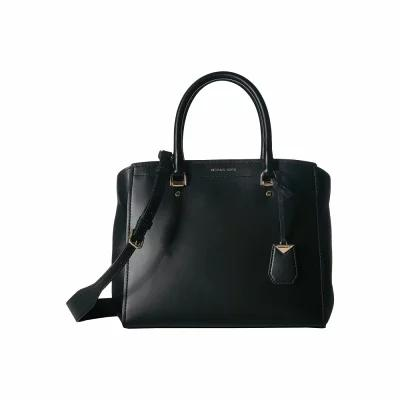 マイケル コース MICHAEL Michael Kors ハンドバッグ Benning Large Satchel Black