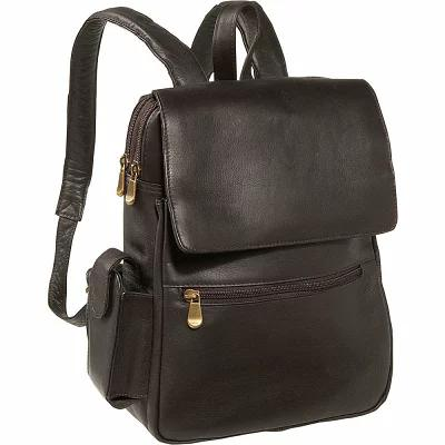 ルドンレザー Le Donne Leather バックパック・リュック Ladies Tech Friendly Backpack Cafe