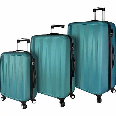 エリート Elite Luggage スーツケース・キャリーバッグ Verdugo 3 Piece Hardside Spinner Luggage Set Teal