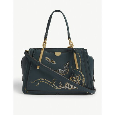 コーチ coach ハンドバッグ leather dreamer handbag B/evergreen