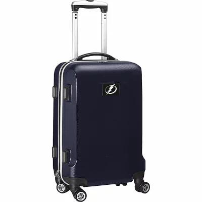 デンコスポーツラッゲージ Denco Sports Luggage スーツケース・キャリーバッグ NHL 20' Domestic Carry-On Navy Tampa Bay Lightning
