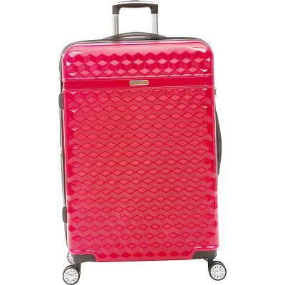 キャシー アイアランド Kathy Ireland スーツケース・キャリーバッグ Audrey 29' Expandable Hardside Spinner Checked Luggage Red