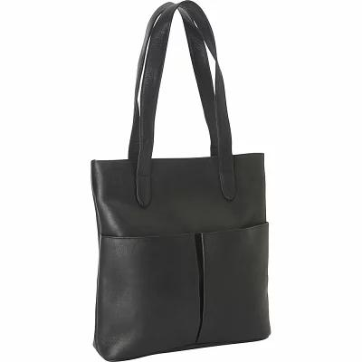 ルドンレザー Le Donne Leather トートバッグ Destination Tote Black
