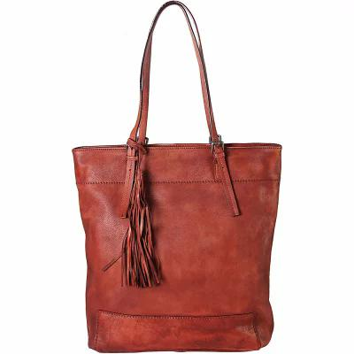 ディオフィ Diophy トートバッグ Tassels Large Shopping Tote Red