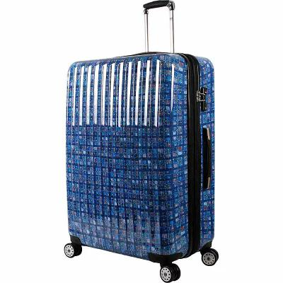 ジェイワールド J World New York スーツケース・キャリーバッグ Titan 29 inch Polycarbonate Art Luggage Logics Blue