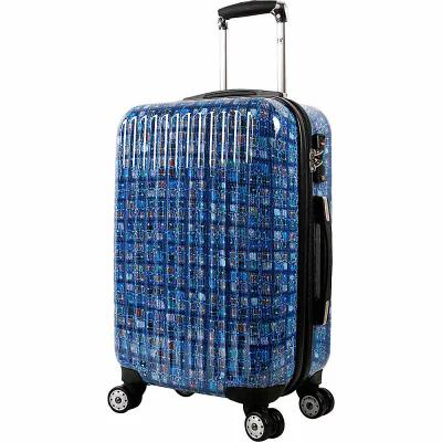 ジェイワールド J World New York スーツケース・キャリーバッグ Titan 20 inch Polycarbonate Carry-on Art Luggage Logics Blue