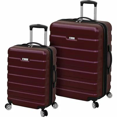 ロンドンフォグ London Fog スーツケース・キャリーバッグ 2 Piece Expandable Hardside Spinner Luggage Set Wine