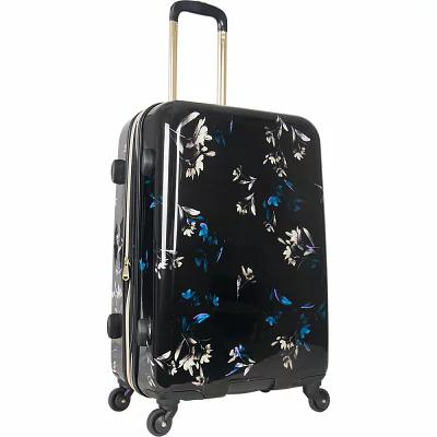 エイミー ケステンバーグ Aimee Kestenberg スーツケース・キャリーバッグ Midnight Floral 24' Expandable Hardside Checked Spinner Luggage Midnight Floral