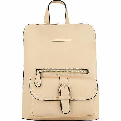 MKFコレクション MKF Collection by Mia K. Farrow バックパック・リュック Sylvia Designer Backpack with Cosmetic Pouch Beige