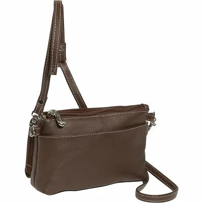 ピエール Piel 財布 Shoulder Bag/Wristlet Chocolate